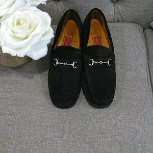 COLE HAAN  black shade loafers size 7.5